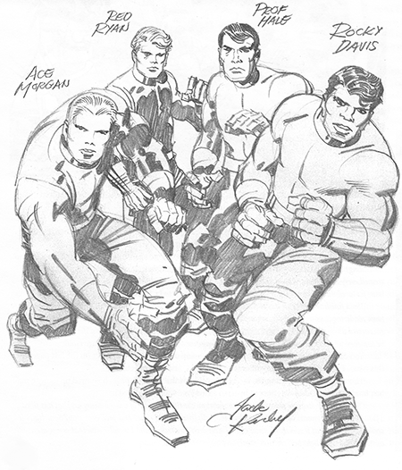Original Pencils by Jack Kirby